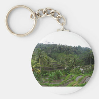 Terraced Rice Fields Keychain