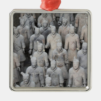 Terracotta Army Premium Square Ornament