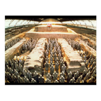 Terracotta Army, Qin Dynasty, 210 BC Postcard
