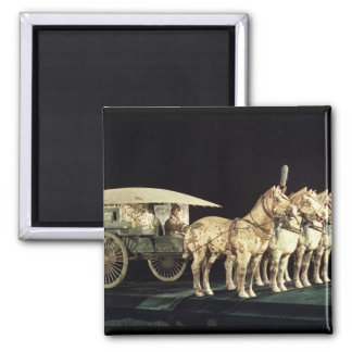 Terracotta Army, Qin Dynasty Square Magnet