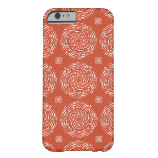 Terracotta Mandala Barely There iPhone 6 Case
