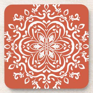 Terracotta Mandala Coaster