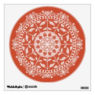 Terracotta Mandala Wall Sticker