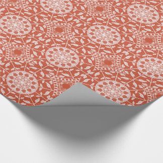 Terracotta Mandala Wrapping Paper