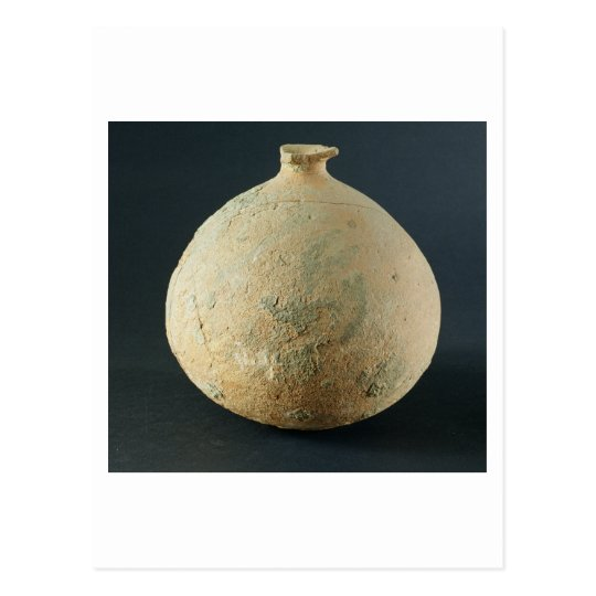 Terracotta pot, Kalibangan, 2300-1750 BC Postcard