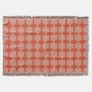 Terracotta Throw Blanket