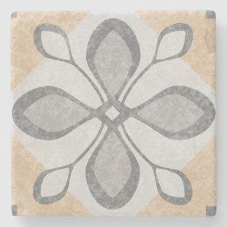 Terracotta Vintage Tiles Design Stone Coaster