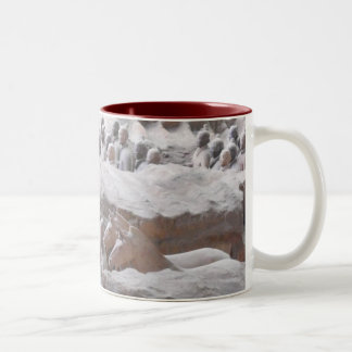 TERRACOTTA WARRIORS Two-Tone COFFEE MUG
