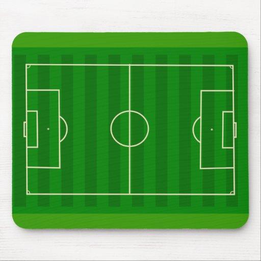 Terrain de football tapis de souris