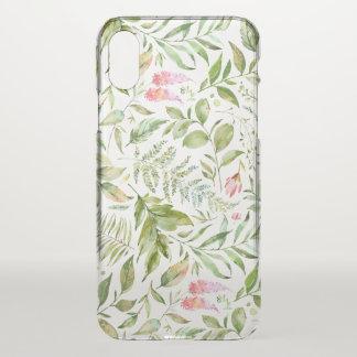 Terrarium Botanical Pattern iPhone X Case
