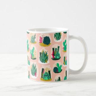 Terrarium Succulent Plant Cactus / Andrea Lauren Coffee Mug