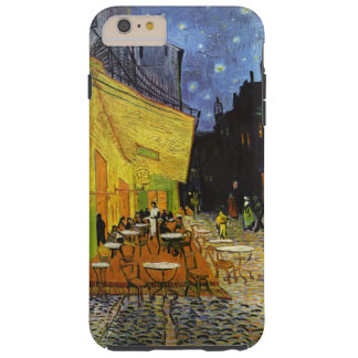 Terrasse de café au cas plus de l'iPhone 6 de Van Coque Tough iPhone 6 Plus