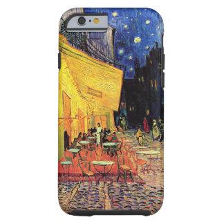 Terrasse de café de nuit de Van Gogh sur l'endroit Coque iPhone 6 Tough
