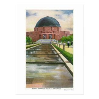 Terrazo Promenade View of Adler Planetarium Postcard