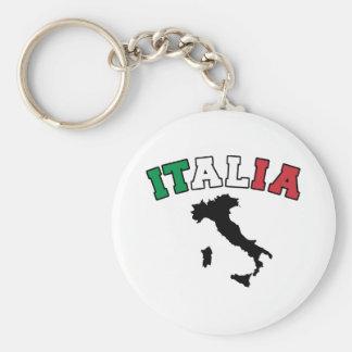 Terre de l'Italie Porte-clé Rond