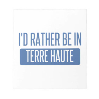 Terre Haute Notepad