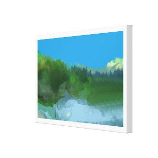 terre imaginaire toiles tendues sur châssis