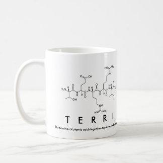 Terri peptide name mug