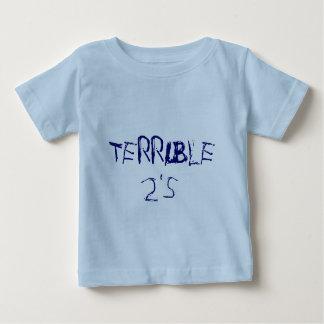 TERRIBLE 2's Tshirt