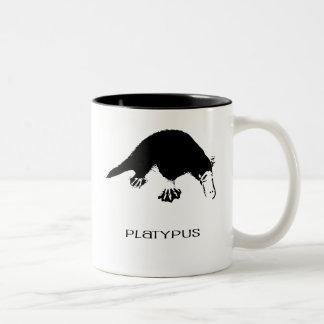 Terrible Platypus Coffee Two-Tone Coffee Mug