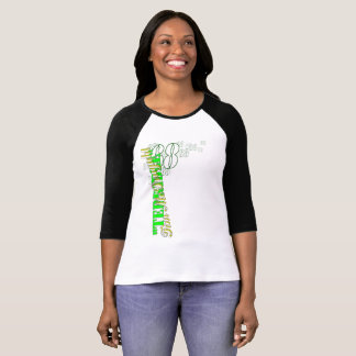 """Terrible Tim"" women's 3/4 sleeve raglan t-shirt"