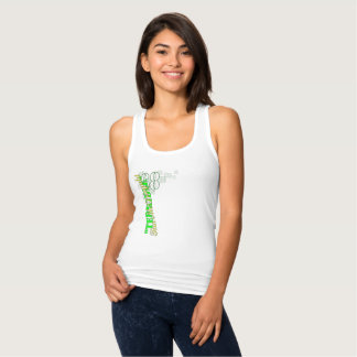 """Terrible Tim"" Women's Slim Fit Racerback Tank Top"