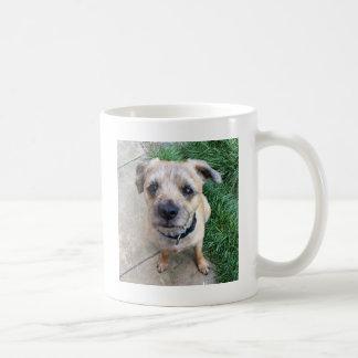 Terrier de frontière mignon mug