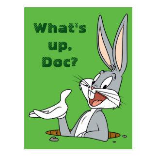 Terrier de lapin de ™ de BUGS BUNNY Carte Postale