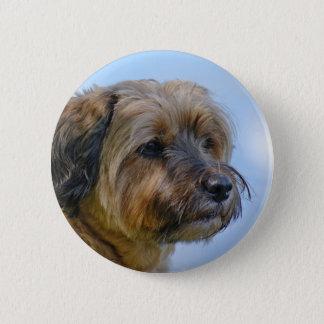 Terrier Design 2 Inch Round Button