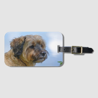 Terrier Design Luggage Tag