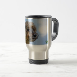 Terrier Design Travel Mug