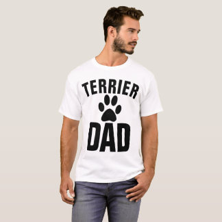TERRIER DOG DAD t-shirts