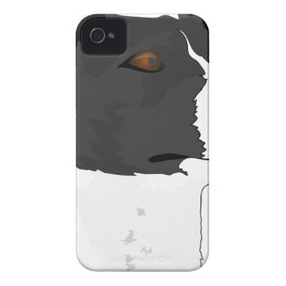 Terrier Dog Head iPhone 4 Cover