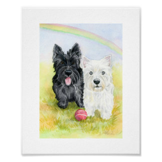 Terrier Friends print