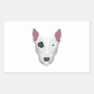 Terrier Head Sticker