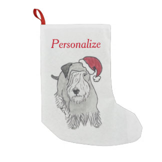 Terrier Holiday Stocking