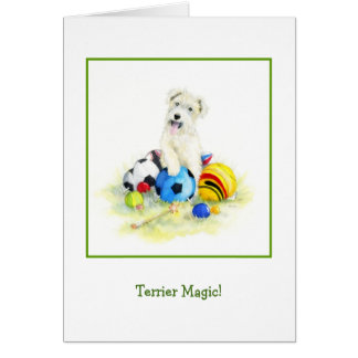 Terrier Magic Card