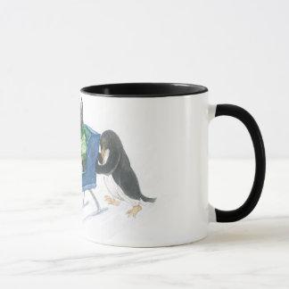 Terrier Sleigh Ride mug