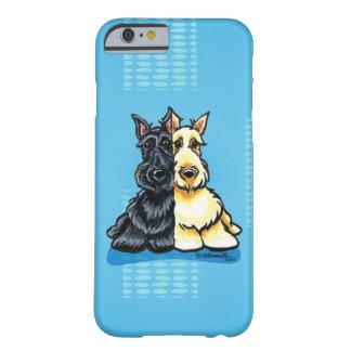 Terriers écossais deux d'une sorte coque barely there iPhone 6