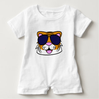 Terrific Tiger Baby Romper