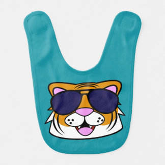 Terrific Tiger Bib