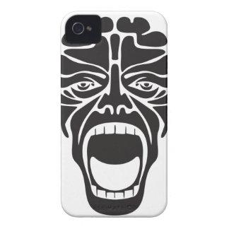 terrifying scream Case-Mate iPhone 4 cases