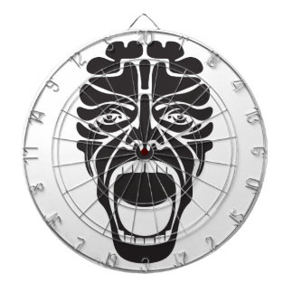 terrifying scream dartboard