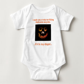 Terrifying Surprise Baby Crawler Shirt