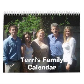 Terri's Family Calendar