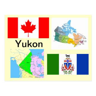 Territoire de Yukon Canada Carte Postale