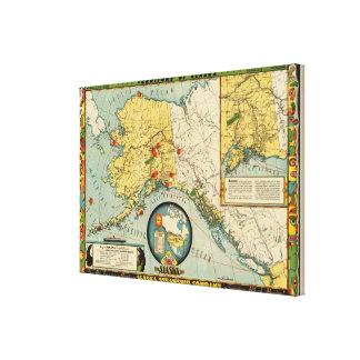 Territory of Alaska Canvas Print