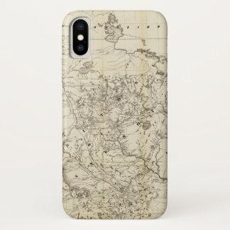 Territory of Minnesota Map (1849) iPhone X Case