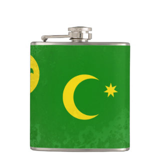 Territory of the Cocos (Keeling) Islands Hip Flask
