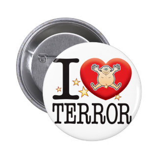 Terror Love Man 2 Inch Round Button